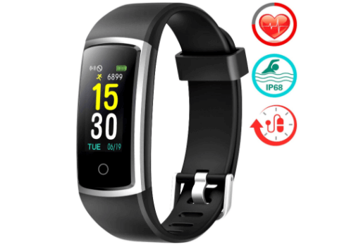 FITFORT Fitness Tracker with Blood Pressure
