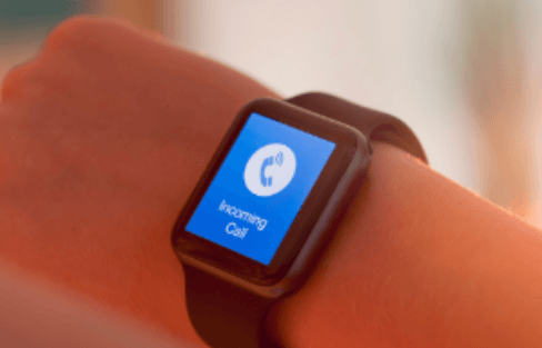 makaing calls from smartwatch